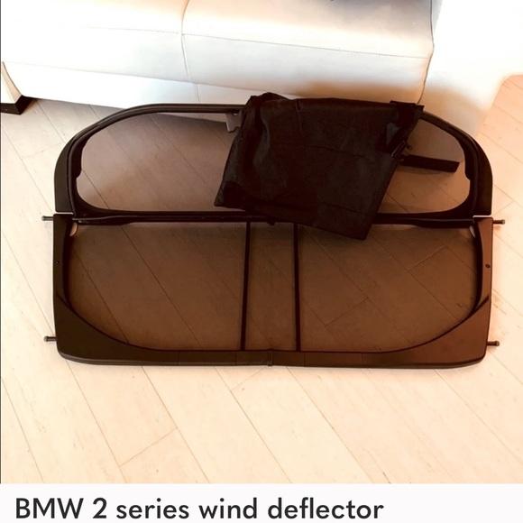 Car-2series BMW wind/deflec for 2017 convertible